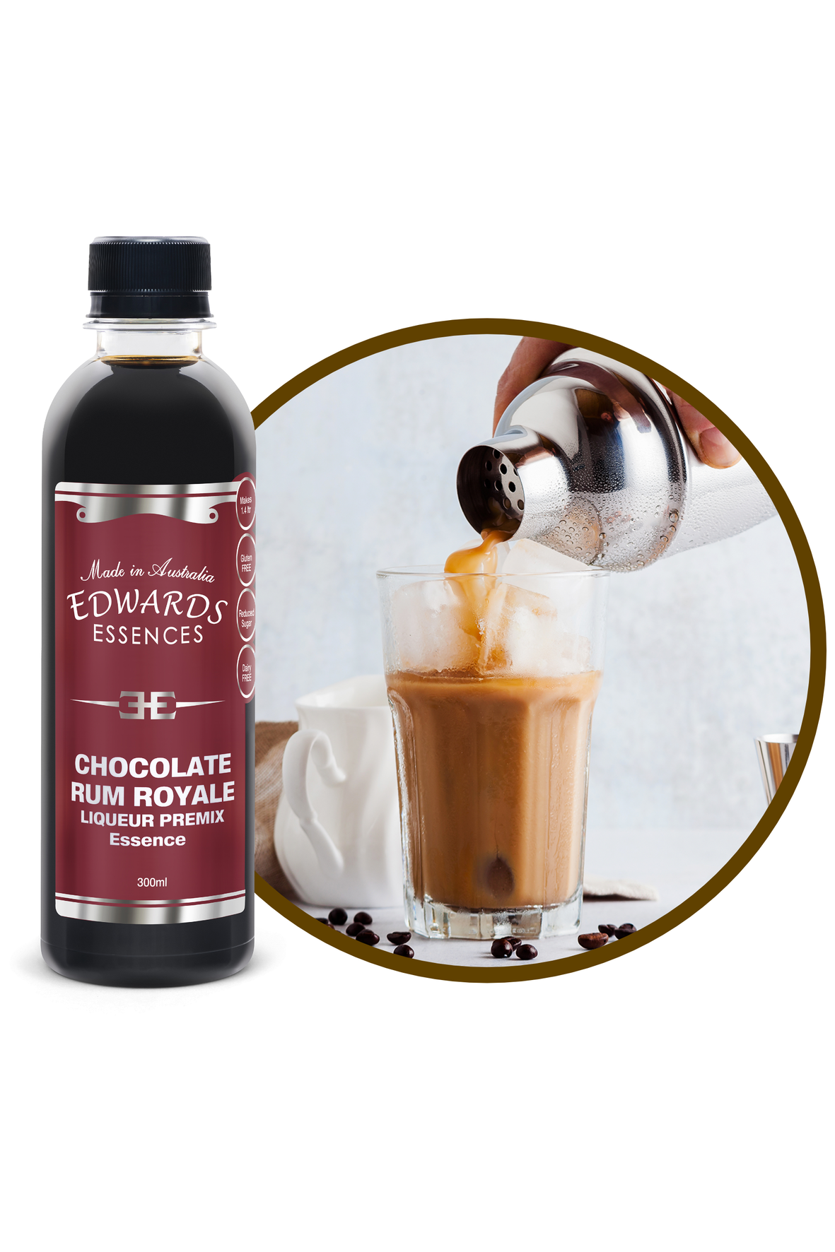 Chocolate Rum Royale Premix