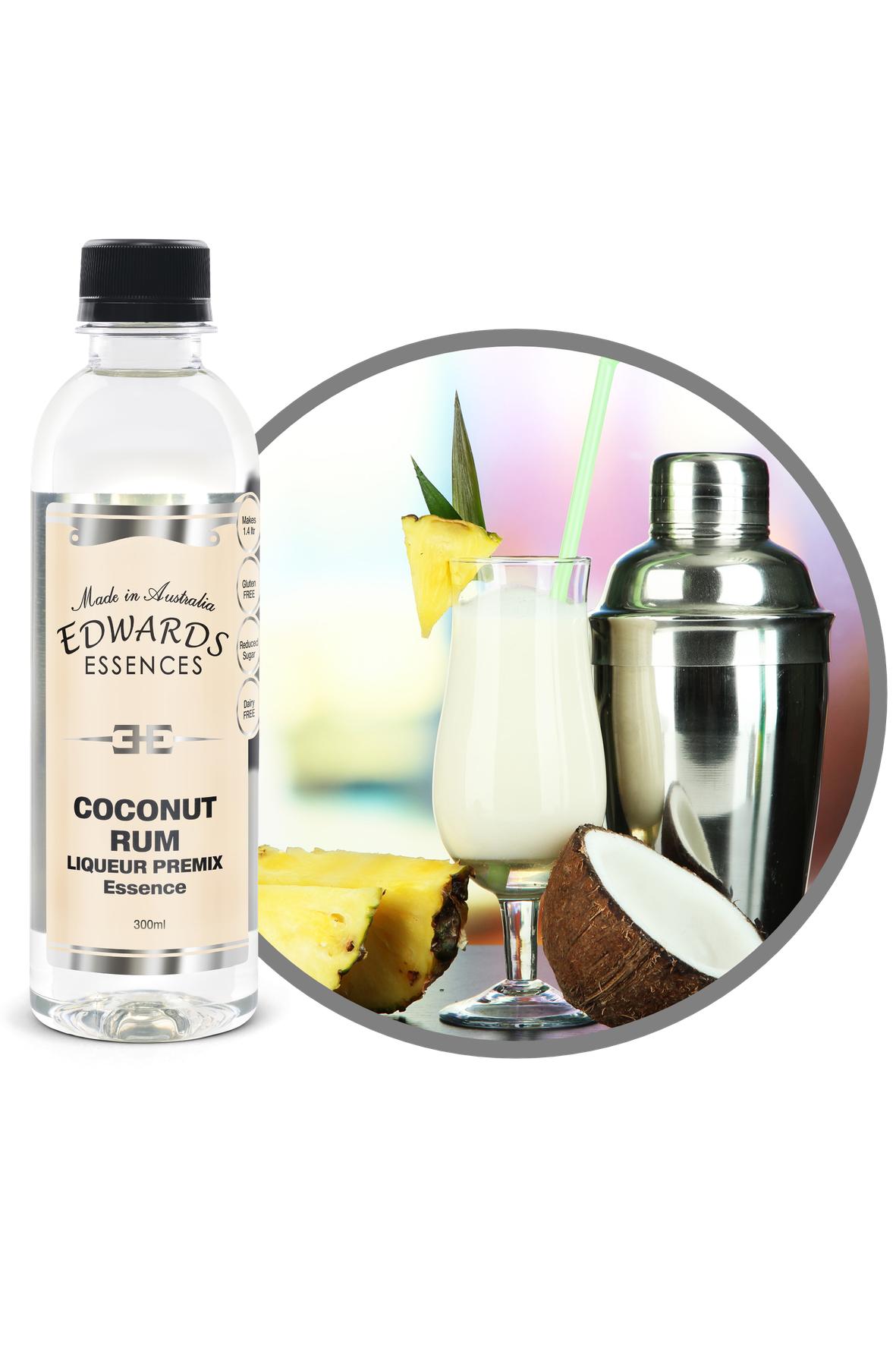 Coconut Rum Premix
